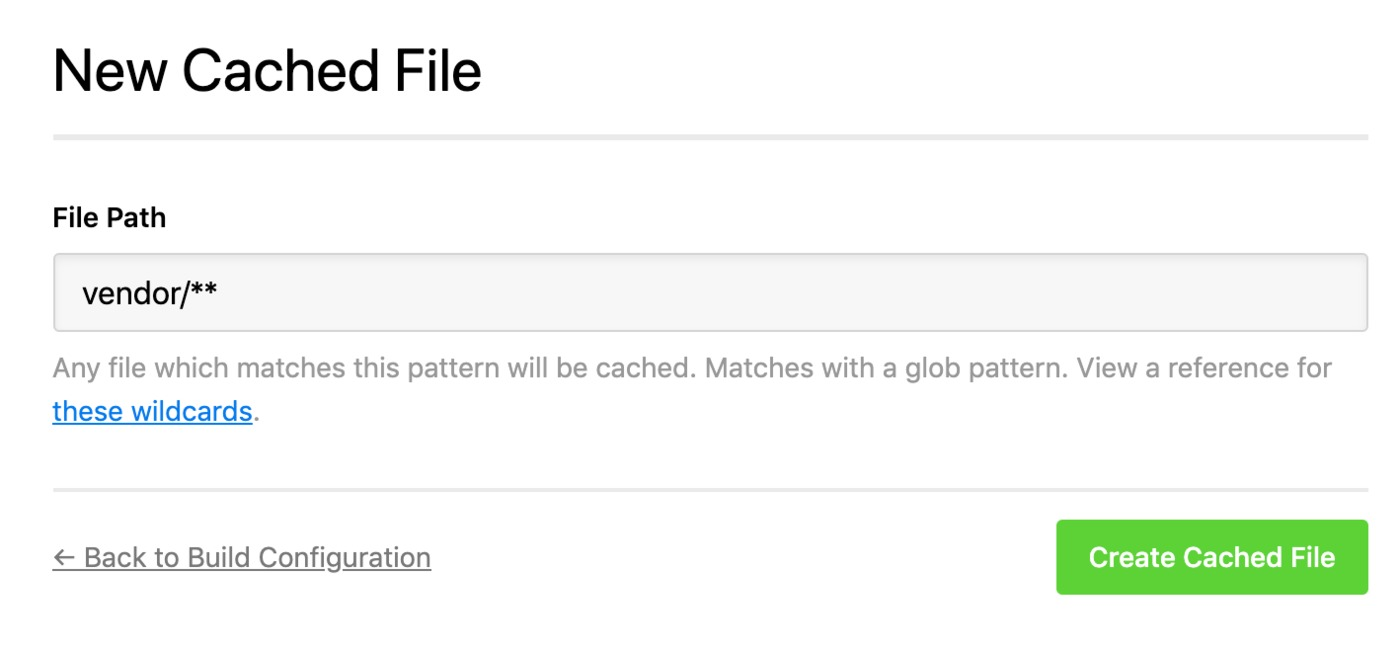 Drupal build cache