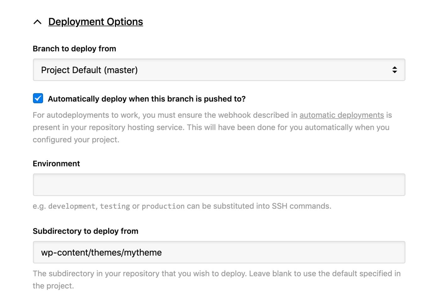 34SP - deployment options