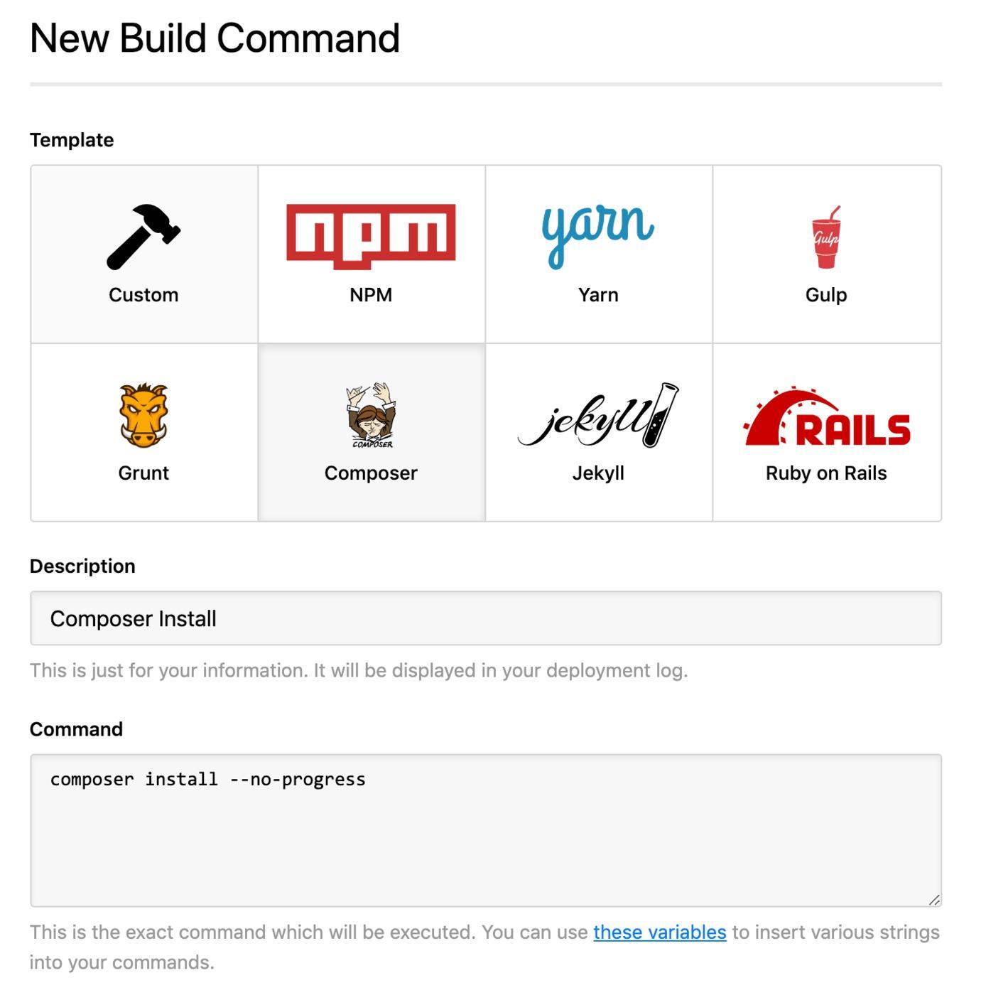 Drupal Build