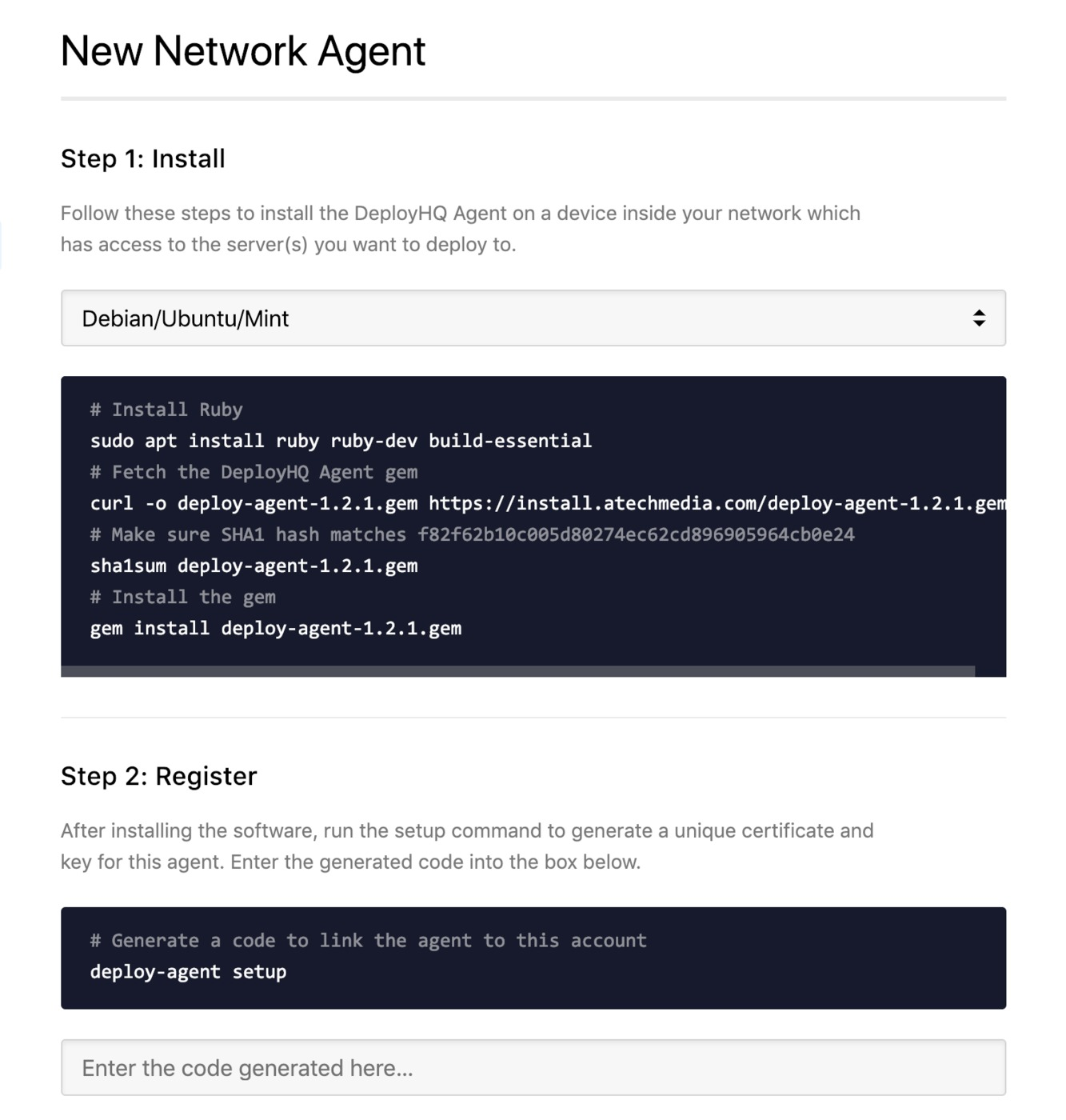 Deploy to servers in private networks using the DeployHQ